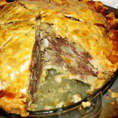 Foodie Friday: Tourtière du Saguenay (French-Canadian Meat Pie) (pork, beef & veal shoulder, & salt pork)