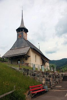 Church my Great Grandparents were married. Habkern, Switzerland