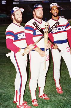 Steve Kemp, Greg Luzinski and Harold Baines
