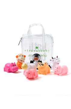 0d4783f67316 Elegant Baby Squirtie Bath Set (Set of 8) available at  Nordstrom Nordstrom  Baby
