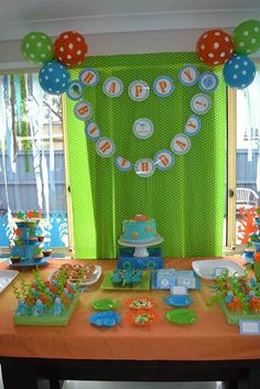 Under the Sea Party Theme party by Gifted Creations
