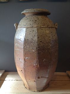 Large woodfired Jar by JDJorgensonPottery on Etsy, $500.00