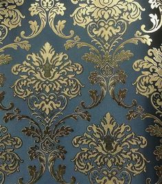 Damask Wallpaper, Wallpaper Decor, Modern Wallpaper, Pattern Wallpaper, Flock Wallpaper, Wall Painting Decor, Wall Decor Design, Carpet Tiles, Color Tile