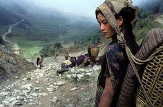 Chhetri woman in Dhorpatan, Nepal   Photograph: Bruno Morandi