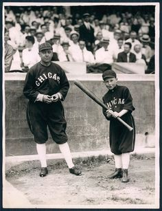 Pants Rowland & Pants Jr - Best known as the manager of the 1917 World Champs Chicago White Sox