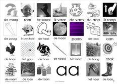 plaat aa Kindergarten Lessons, Kindergarten Reading, Afrikaans Language, Letter School, Learn Dutch, Dutch Language, Preschool, Mini, Babyshower