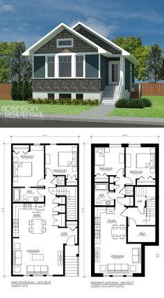 1073 sq. ft, 2 bedroom, 1 bath.