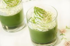 COOKING WITH JAPANESE GREEN TEA: Matcha Green Tea Jelly