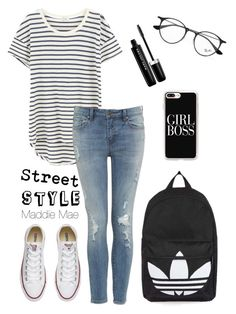 """""""Inspired by: Sophie Simnett"""" by maddiemae30 ❤ liked on Polyvore featuring Splendid, Converse, Topshop, Ray-Ban, Casetify and Marc Jacobs"""