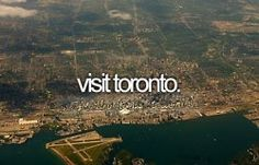 Road trip to Toronto #2014bucketlist