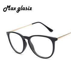 FuzWeb:fashion vintage Eye Glasses Retro clear lens glasses cute lovely student eye glass 4 colors glass oculos de grau masculino