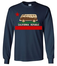 California Republic Vintage Van Long Sleeve Shirt