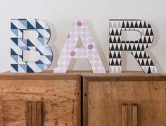 Lettere Di Legno Da Appendere : 9 fantastiche immagini su lettera da parete christmas decorations