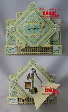 Made by Miriam: http://www.crealies.nl/detail/1205822/15-01-21-miriam.htm & http://crealies.blogspot.nl/2015/01/verrassing.html Crealies Items: Create A Card No: 06 Download Create A Card No: 6 Crea-Nest-lies XXL S {kiekeboe} No: 05 vierkant Crea Nest lies XXL No: 08 Decorette No: 05 Duo Dies No: 16 duo labels No: 03 Set of 3 stansen No: 17 bloemen No: 11 NL tekst stempel Verrassing ..