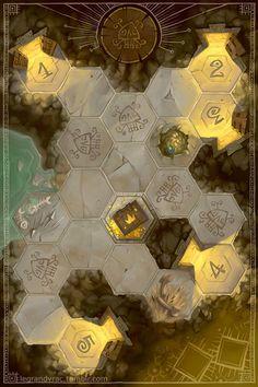 Le grand vrac ! Board Game Design, Game Ui Design, Game Gui, Game Icon, Hexagon Game, Card Ui, Princess Games, Game Textures, Game Interface