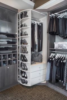 Explore the best of luxury closet design in a selection curated by Boca do Lobo to inspire interior designers looking to finish their projects. Discover unique walk-in closet setups by the best furniture makers out there Walk In Closet Design, Bedroom Closet Design, Master Bedroom Closet, Bedroom Wardrobe, Closet Designs, Master Bedrooms, Walk In Wardrobe, Closet Walk-in, Closet Space
