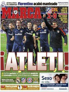 Rassegna stampa estero: domina l'impresa dell'Atletico - http://www.maidirecalcio.com/2016/04/14/rassegna-stampa-estero-38.html