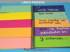 LAPICERO MÁGICO Libros partidos, escritura creativa