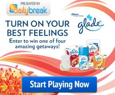 Glade Best Feelings Challenge and Printable Coupon | Get FREE Samples by Mail | Closet of Free Samples