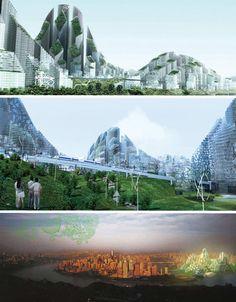 Futuristic Eco-Housing & Visionary Green Public Space Ideas - WebEcoist