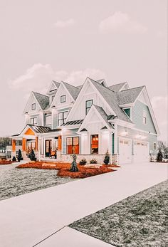 Dream House Exterior, Dream House Plans, Dream Home Design, My Dream Home, Dream Life, Luxury Homes Dream Houses, Cute House, House Goals, Dream Rooms