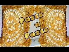 Blusa Amarela (croche de grampo) By Vanessa Cunha