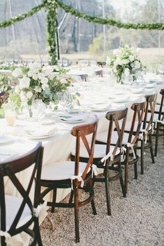 #chair  Photography: Onelove Photography - onelove-photo.com  Read More: http://www.stylemepretty.com/2014/07/21/rustic-bonny-doon-wedding-with-scandinavian-traditions/