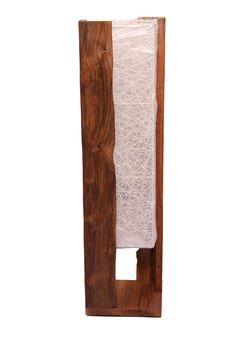 Origami - Made From Teak Wood. Dimension : L 22cm x W 22cm x H 80cm.