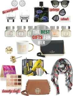 The Best Holiday Gift Guide for Her via livelearnluxeit.com #holidaygiftguide #giftsforher