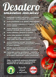 Desatero správného jídelníčku Microbiome Diet, Diet Recipes, Healthy Recipes, Vegan V, Health Trends, Nutrition, Thing 1, Dessert For Dinner, Healthy Mind