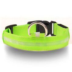 Glowing LED Dog Collar