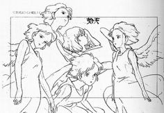 A great little collection of Studio Ghibli concept art. The storyboards are especially fantastic.