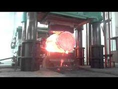shaft forging,anyang forging press - YouTube