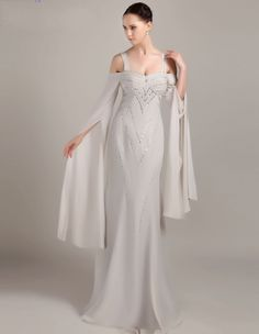 Find More Evening Dresses Information about fashion elegant long evening dresses 2016 new boat neck  long sleeves crystal beaded chiffon women pageant gown for formal party,High Quality dress bee,China dress wedding gown Suppliers, Cheap dress patterns evening gowns from suzhou  helen wedding dress company on Aliexpress.com