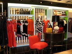 Step into kate spade's boutique interiors Boutique Decor, Mobile Boutique, Boutique Interior, Shop Interior Design, Store Design, A Boutique, Boutique Ideas, Design Interiors, Display Design