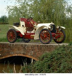 1903 Mercedes Simplex sixty 2 seat sporting tourer Country of origin Germany - Stock Image