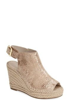 Kenneth+Cole+New+York+'Olivia'+Espadrille+Wedge+Sandal+(Women)+available+at+#Nordstrom