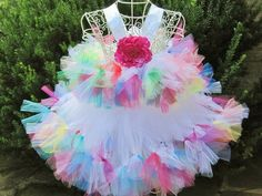 Tutu Dresses and Accessories for Babies and Toddlers by ElsaSieron Pageant Wear, Girls Pageant Dresses, Gowns For Girls, Tutus For Girls, Party Wear Dresses, Tutu Dresses, Girly Girls, Tulle Dress, Diy Tutu Skirt