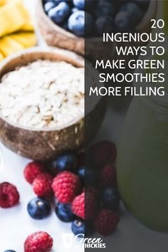 I show you exactly how to make green smoothies more filling by adding filling, nutritious ingredients to them. I go into great detail with each ingredient. Green Smoothie Cleanse, Green Detox Smoothie, Smoothie Prep, Green Smoothie Recipes, Green Smoothies, Make Ahead Smoothies, Good Smoothies, How To Make Greens, Meal Replacement Shakes
