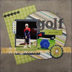 Gallery - Scrapbooking - golf - Two Peas in a Bucket