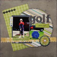 Gallery - Scrapbooking - golf - Two Peas in a Bucket
