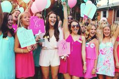 seriously the cutest bid day ever
