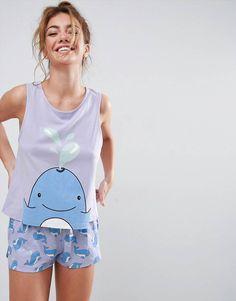 da6c6d8b2eaae 16 Awesome Pjs images | Pajama set, Lingerie sleepwear, Nightwear