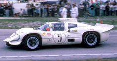 5 - Chaparral 2D Chevrolet #2D001 - Chaparral Cars Sebring 12 Hours 1967