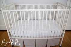 upcycled spindle crib for your# baby's nursery.  get the look you want, on the cheap!  http://instylepartyfavors.blogspot.com/