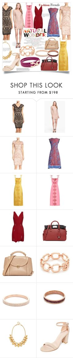 """Spring Fashion Trends!!!"" by bonnielindsay ❤ liked on Polyvore featuring Tadashi Shoji, Diane Von Furstenberg, Altuzarra, The Vampire's Wife, Thierry Mugler, Maison Margiela, Salvatore Ferragamo, EF Collection, Kismet by Milka and Kate Spade"