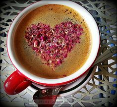 My Valentine Coffee: Love Is In The Coffee. Love Is In the Air.