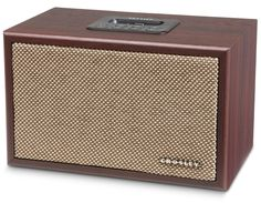 Amazon.com : Crosley CR3011A-MA iDeco Speaker Dock for iPod (Mahogany) : MP3 Players & Accessories