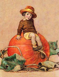 Peter Peter Pumpkin Eater  Jessie Willcox Smith