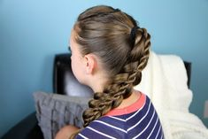Stacked Twist | Cute Girls Hairstyles